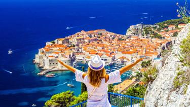 horvátország dubrovnyik nyaralás tengerpart getty stock