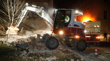 horvátország földrengés