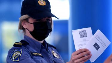 horvátország határ járvány vírus covid igazolás