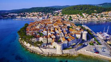 horvátország korcula