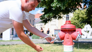 hőségriadó extrém időjárás ivóvíz