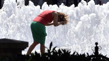 hőségriadó melegrekord időjárás hőmérséklet