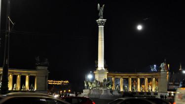 hősök tere budapest magyarország