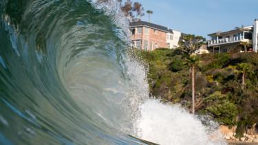 hullám, óceán, tengerparti lakások