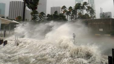 hurrikán árvíz víz florida