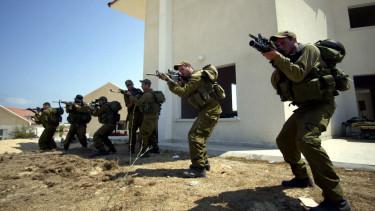 idf izraeli katonák gyakorlat