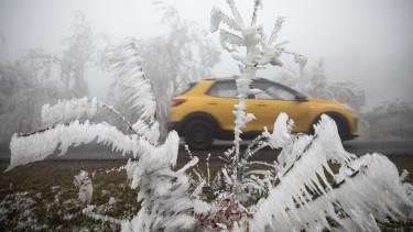 időjárás előrejelzés jég hó tél