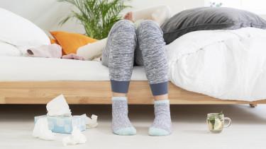 influenza nátha zsebkendő