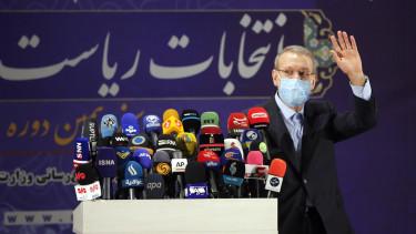 irán elnökválasztás