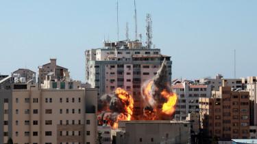izrael gáza
