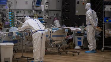 izrael kórház súlyos koronavírus eset gyógyszer