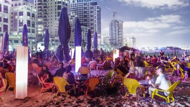 izrael telaviv buli tengerpart
