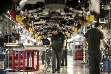jaguar land rover brit autogyar