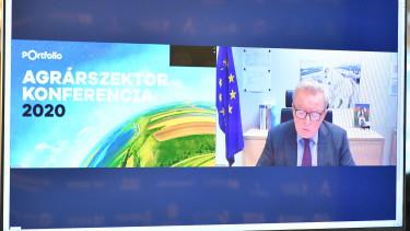 Janusz Wojciechowski cimlapkep lengyel agrarbiztos Agrarszektor 2020 konferencia Portfolio eloadas