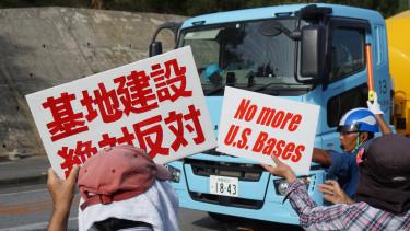 japán tüntetés