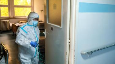 járvány kórház románia