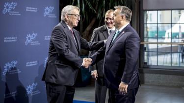Jean-Claude Juncker Orban Viktor gigantikus buntetes bevallal eu tamogatas
