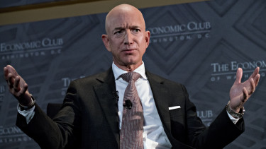 jeff bezos getty editorial