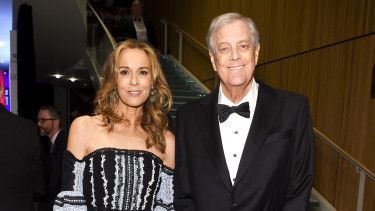 julia és david koch_getty