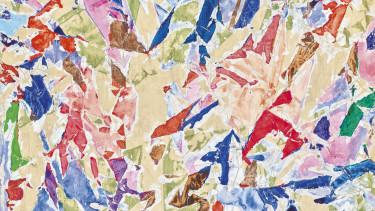 Kádár Béla Concertina című festményért 70-90 millió forintot várnak a Virág Judit Galéria árverésén
