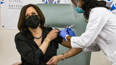 kamala harris védőoltás koronavírus usa