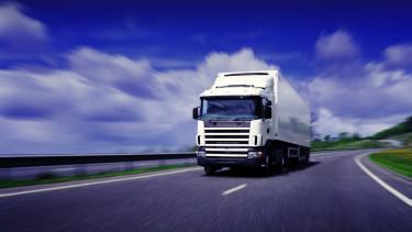 kamion teherautó