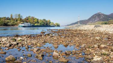 Káoszt okoz Németországban a folyók alacsony vízállása