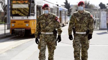 katonaság koronavírus járvány