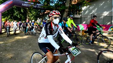 kerékpár bicikli verseny