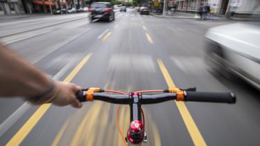 kerékpársáv bicikliút budapest járvány