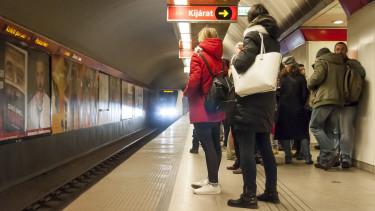 Kiderült: baleset volt a 2-es metrón