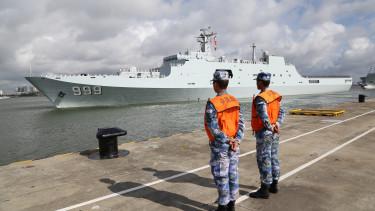Kína hadihajó dzsibuti afrika haditengerészet