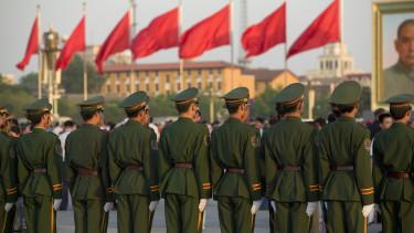 kína kínai katonák peking
