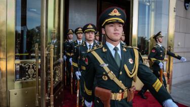 kínai katonák