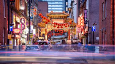 kinai negyed china town