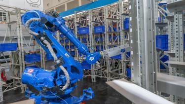 kínai robotkar
