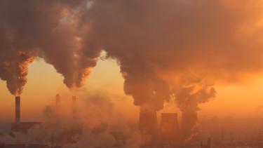 klíma füst fosszilis shutterstock
