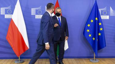 költségvetési vétó magyar orbán viktor Morawiecki
