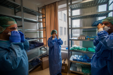 korányi kórház járványkórház koronavírus