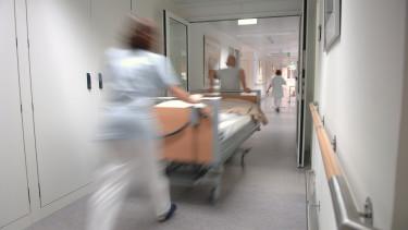 kórház beteg stockfotó