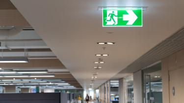 kórház exit egészségügy