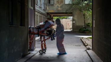 kórház koronavírus járvány
