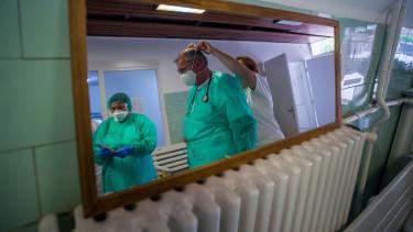 kórház koronavírus járvány szent jános kórház