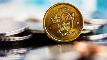 korona svéd készpénz