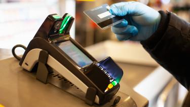 koronavírus érintéses fizetés pos-terminál bankkártya