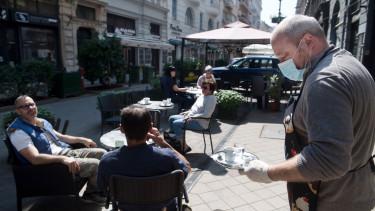 koronavírus étterem terasz