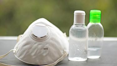 koronavírus fertőtlenítő maszk covid járvány