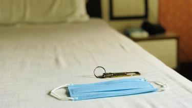 koronavírus hotel szálloda covid maszk járvány