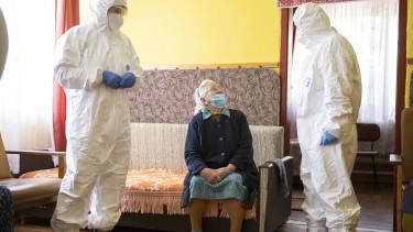 koronavírus idős járvány