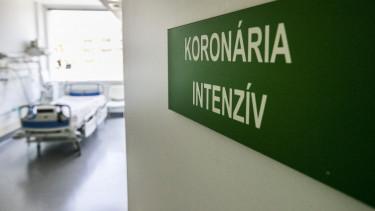 koronavírus intenzív járvány kórház